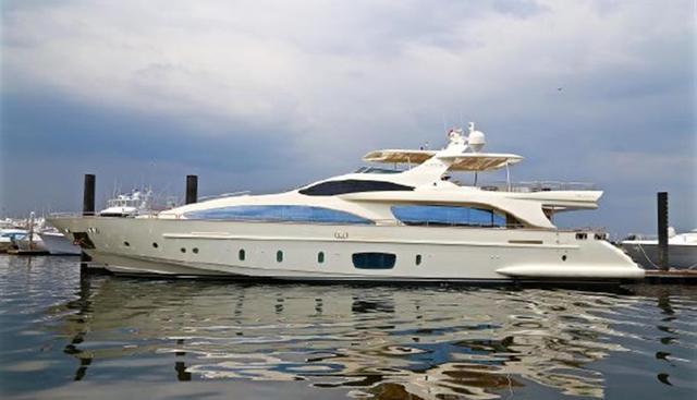 Azimut 105 Charter Yacht