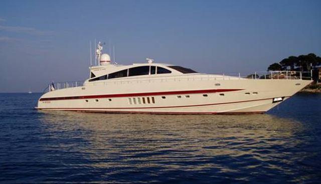 Seven Tatoo Charter Yacht