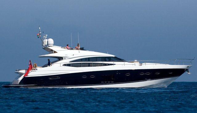 Princess V85 Charter Yacht