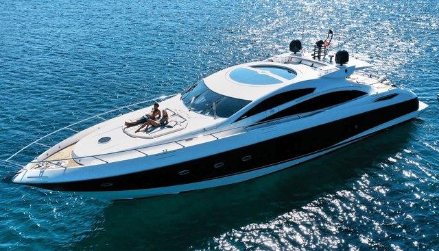Light Blue Charter Yacht - 5