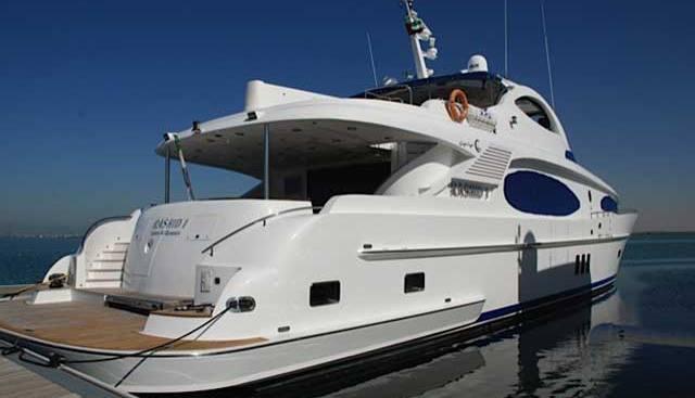 Rashid I Charter Yacht
