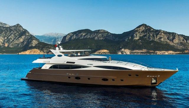 Aliyoni Charter Yacht