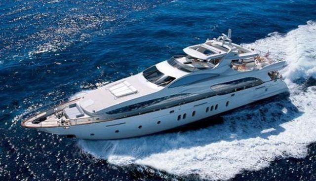 Blue Charter Yacht