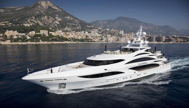 Illusion V Charter Yacht