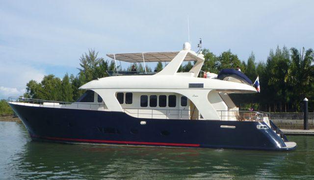 Navirex 23 Charter Yacht