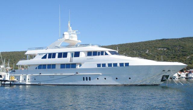 Claudius Charter Yacht