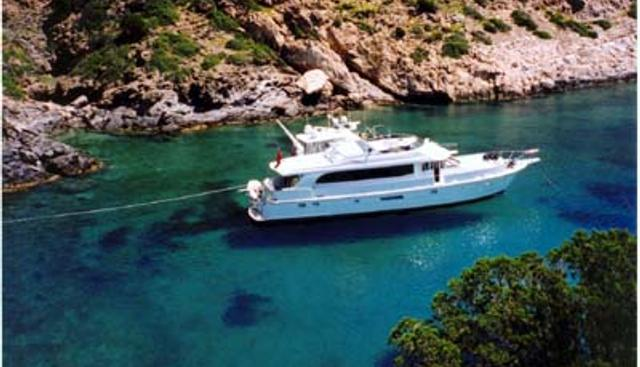 Greenia Too Charter Yacht
