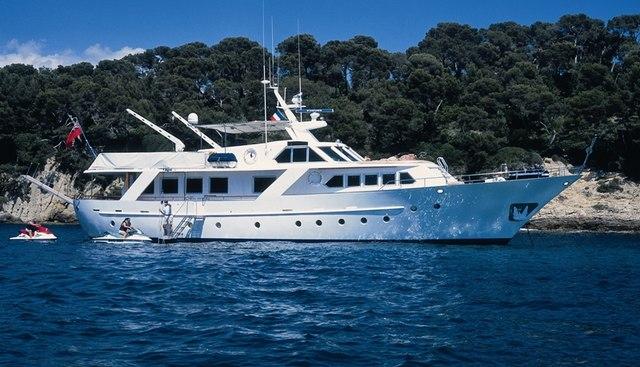 Acacia of the Seychelles Charter Yacht