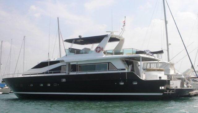 Azimut 76 Charter Yacht