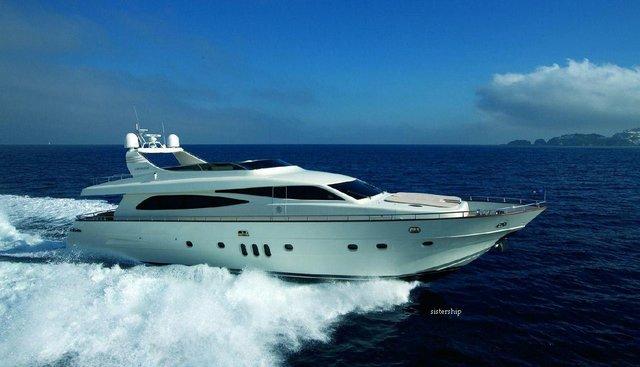 Tyamo Charter Yacht