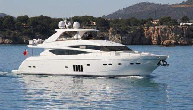 Blanco Charter Yacht