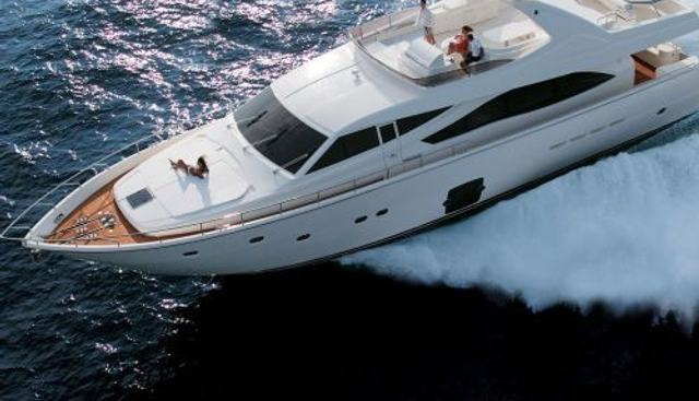 Kazaas Charter Yacht