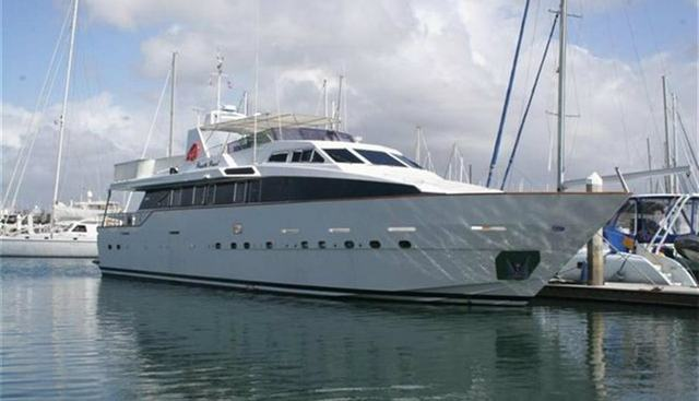 Pacific Pearl Charter Yacht