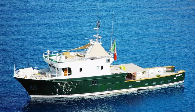 Nave Barbara Charter Yacht