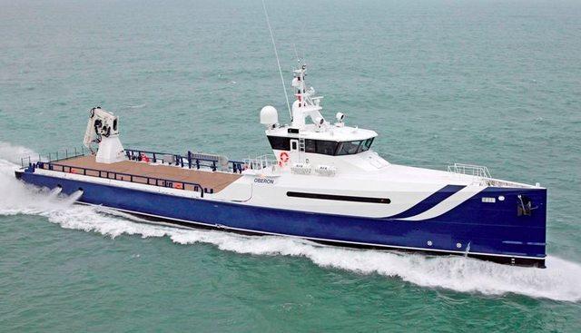 Pursuit Charter Yacht