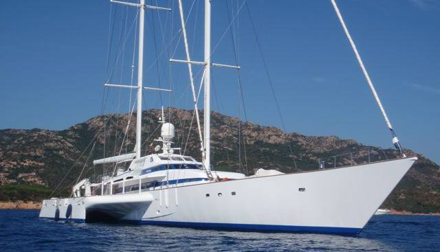 Pilar Rossi Charter Yacht