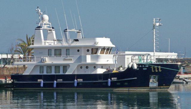 Amarellla F Charter Yacht