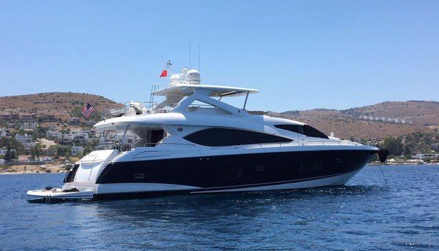 Sunseeker 86 Charter Yacht