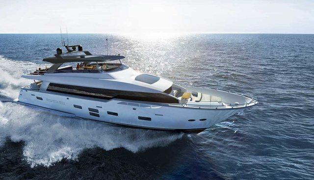 Hatteras Panacera M98/ 01 Charter Yacht