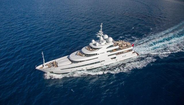 Naia Charter Yacht