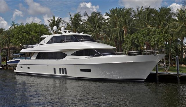 Blind Faith Charter Yacht