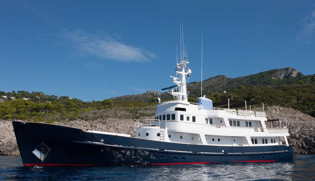 Ice Lady Charter Yacht