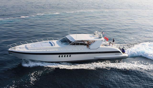 Erasmo Charter Yacht