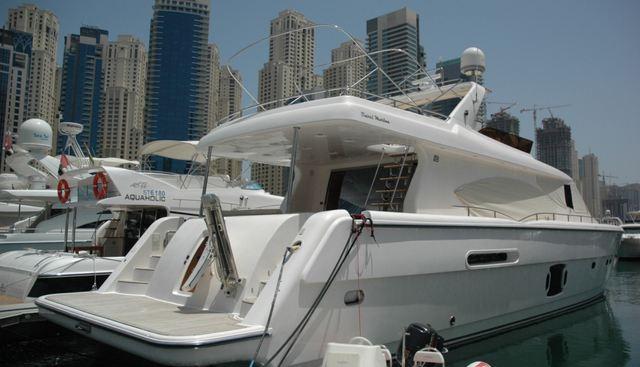 Dubai Marine 85 Charter Yacht