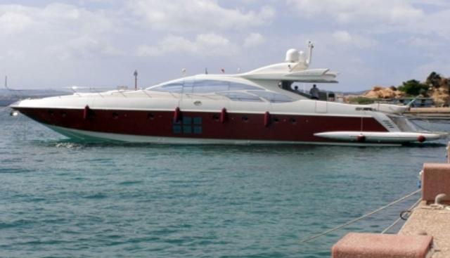 Irisha Charter Yacht