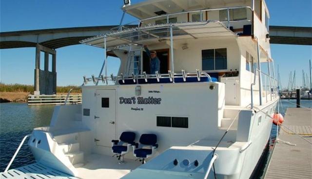 Don't Matter Charter Yacht - 4