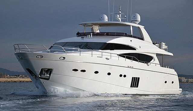 Rosso Charter Yacht
