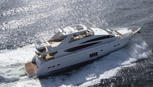 Princess 85 Charter Yacht