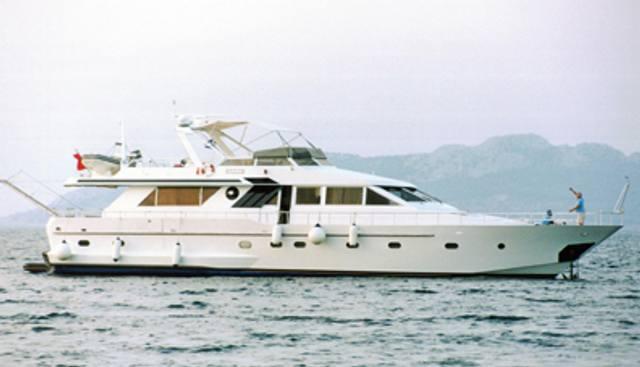 Ariaz Charter Yacht