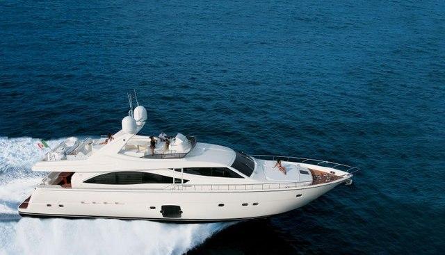 Mah Jong Charter Yacht