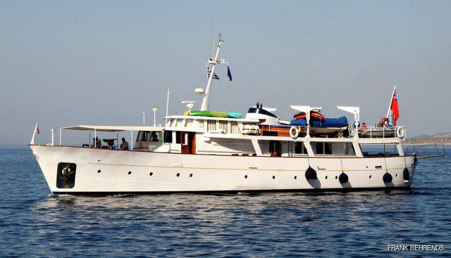 Midnight Sun of St Peter Port Charter Yacht