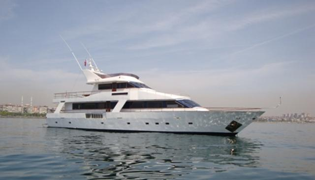 White Liberty Charter Yacht