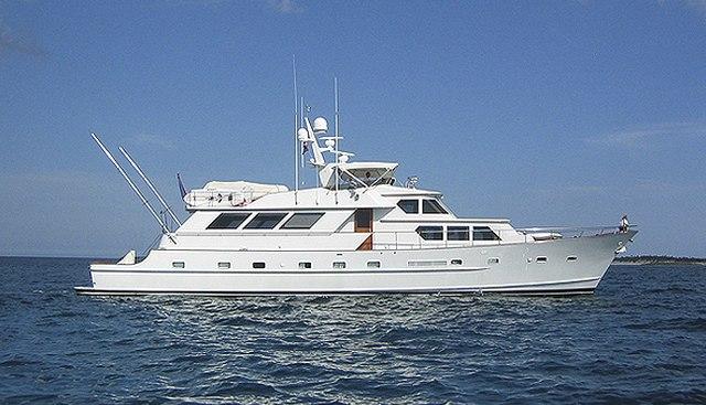 Kestrel Charter Yacht