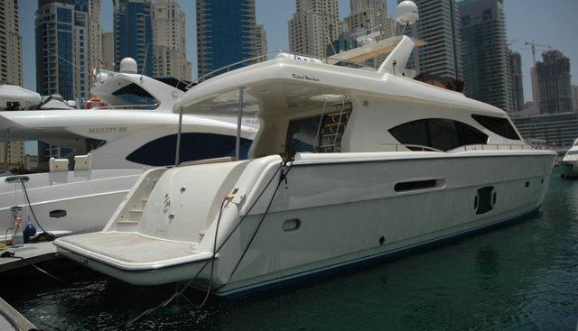 Dubai Marine 85 Charter Yacht - 2