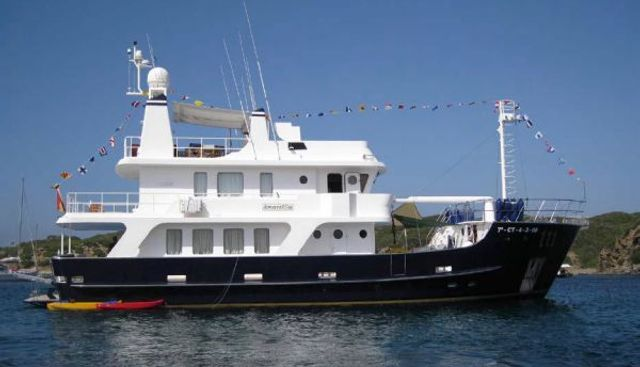 2002 83' Inace Explorer Charter Yacht