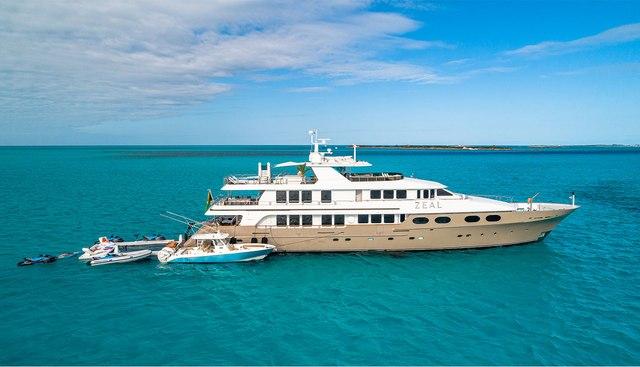 Zeal Charter Yacht