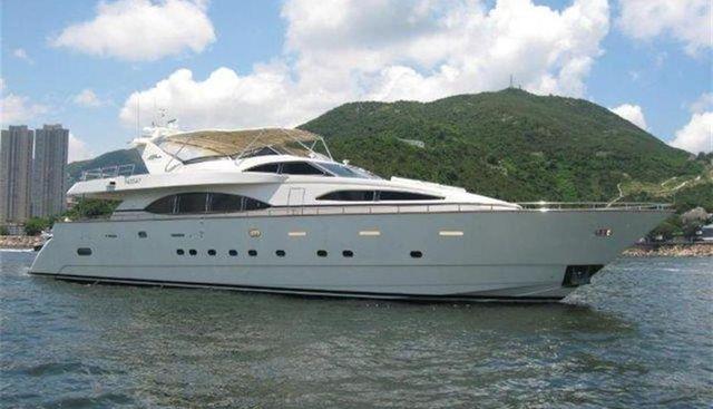Azimut 100 Jumbo Charter Yacht