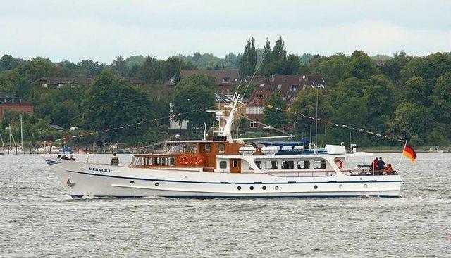 Merkur II Charter Yacht