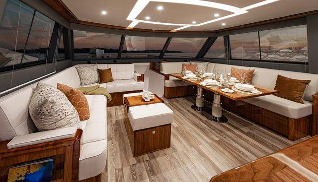 Riviera 72 Sports MY Charter Yacht - 3
