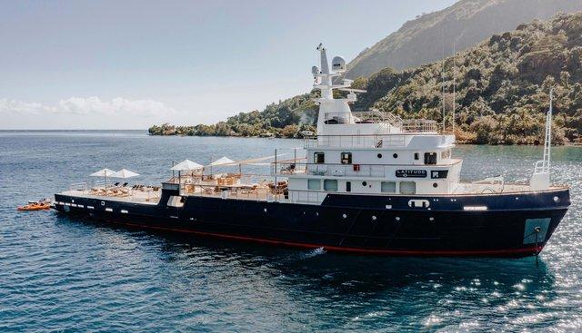 Latitude Charter Yacht