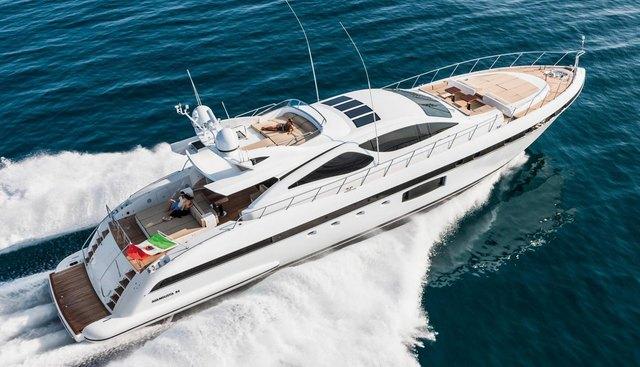 Miss Bubbles Charter Yacht
