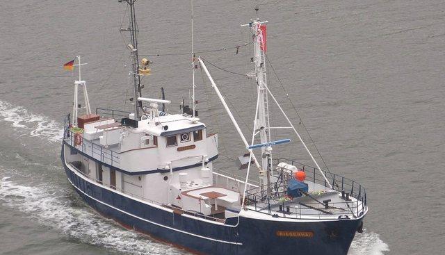 Riesenhai Charter Yacht