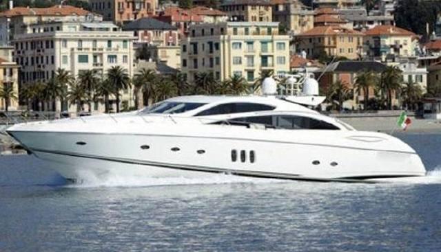 Predator 82 Charter Yacht
