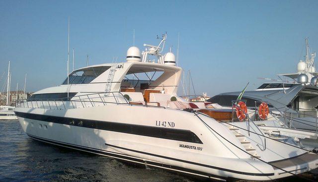 Antares K Charter Yacht