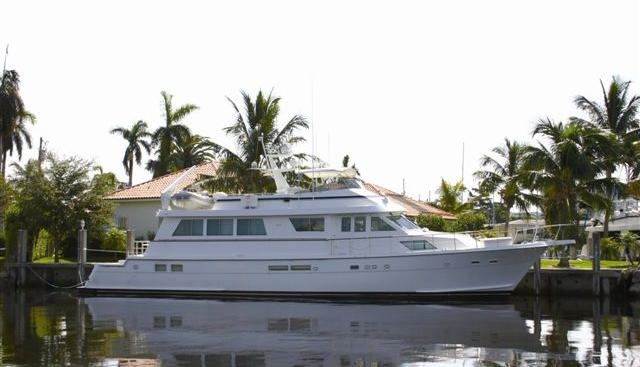 Carolina Wind H2O Charter Yacht