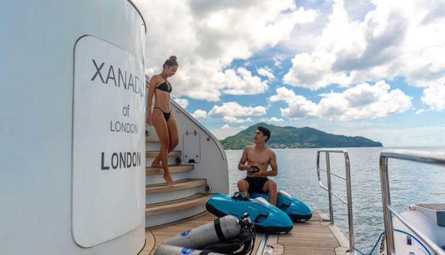 Xanadu of London Charter Yacht - 4